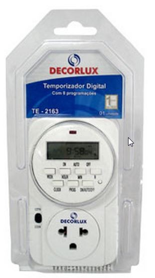 TEMPORIZADOR DIGITAL DECORLUX
