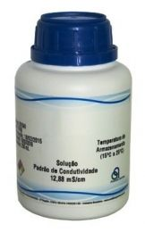 SOLUCAO PADRAO COND 12880 mS/cm (250 mL)